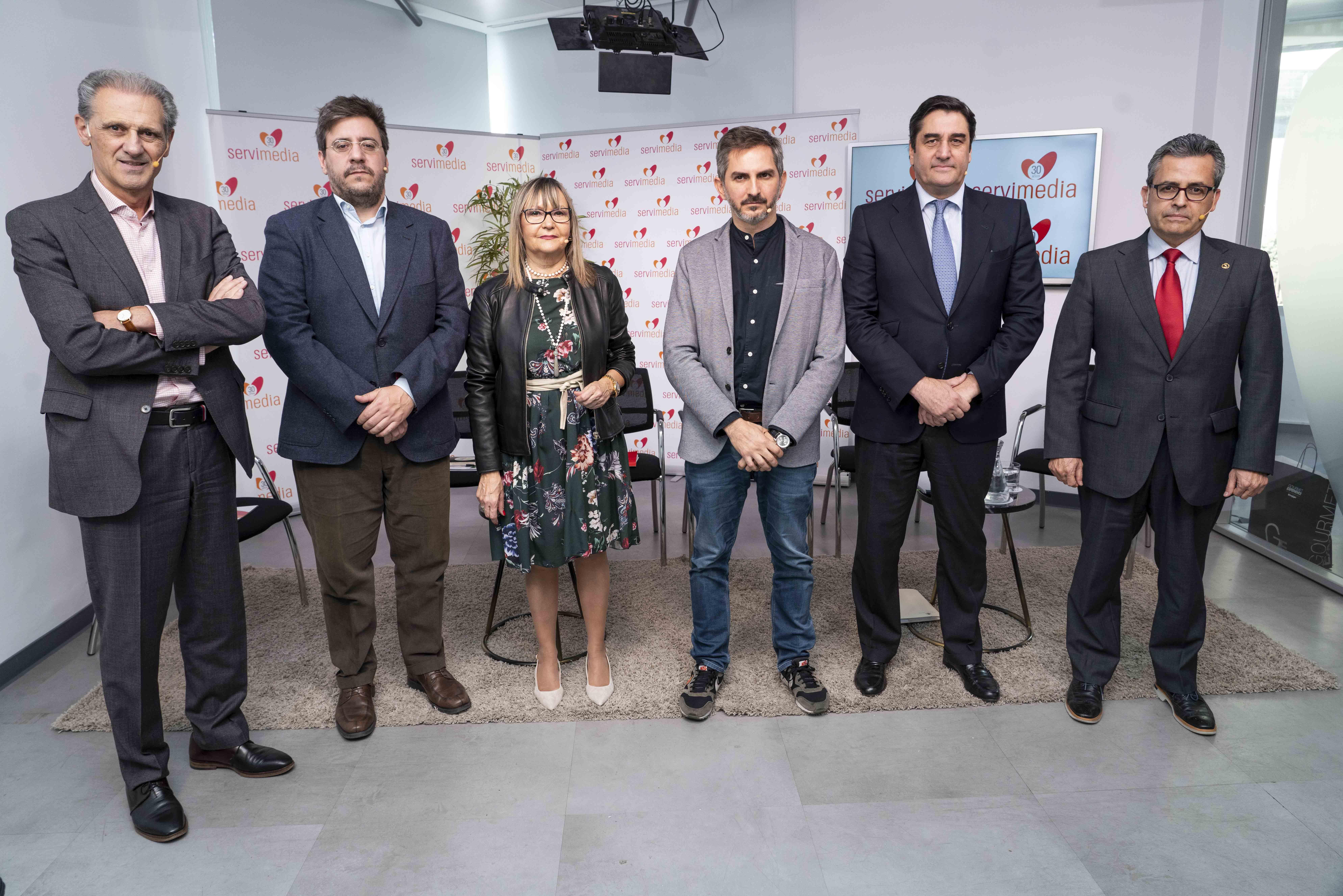 Diálogo civil y político Servimedia ACEB 2019