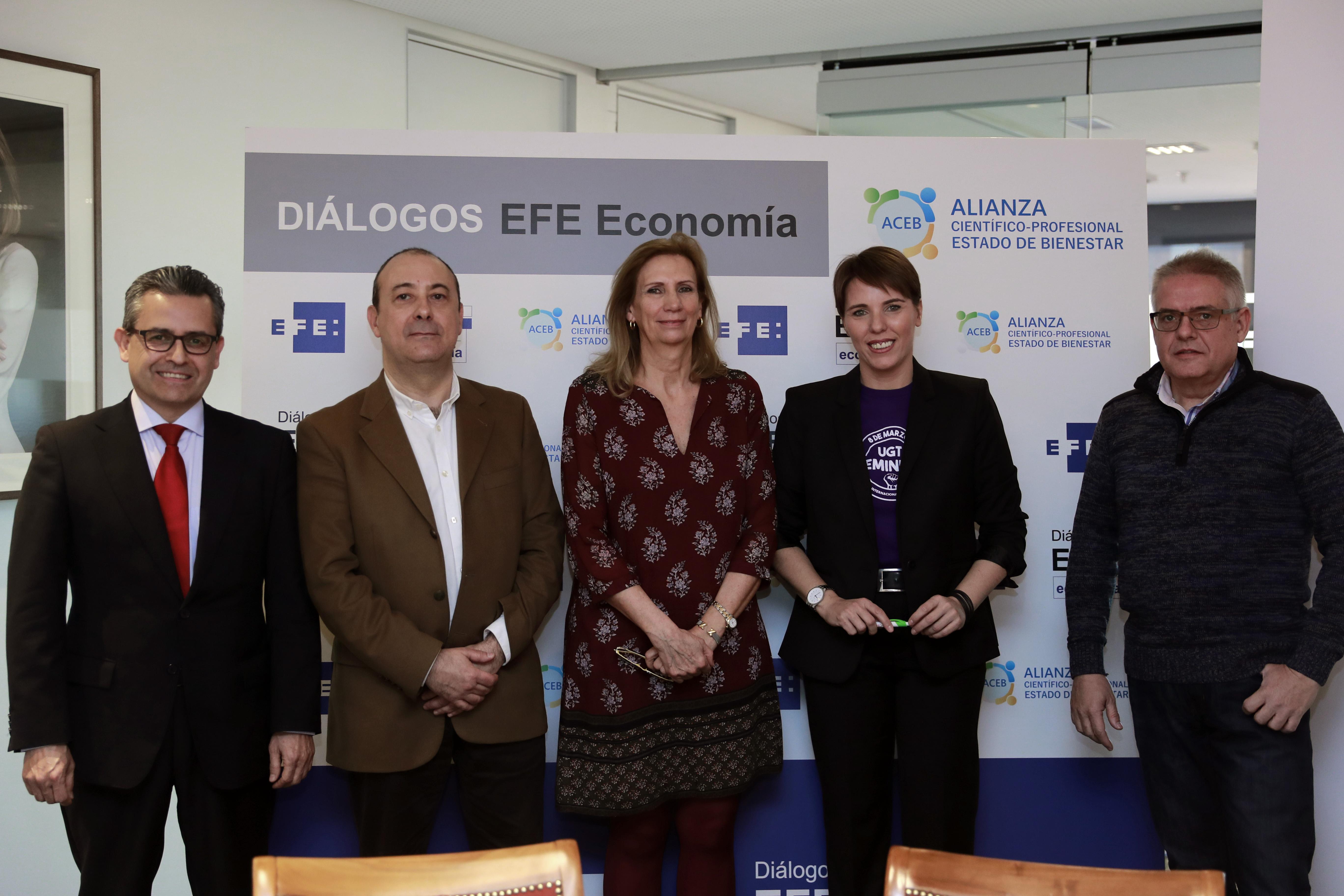 Encuento en Agencia EFE. Febrero 2019