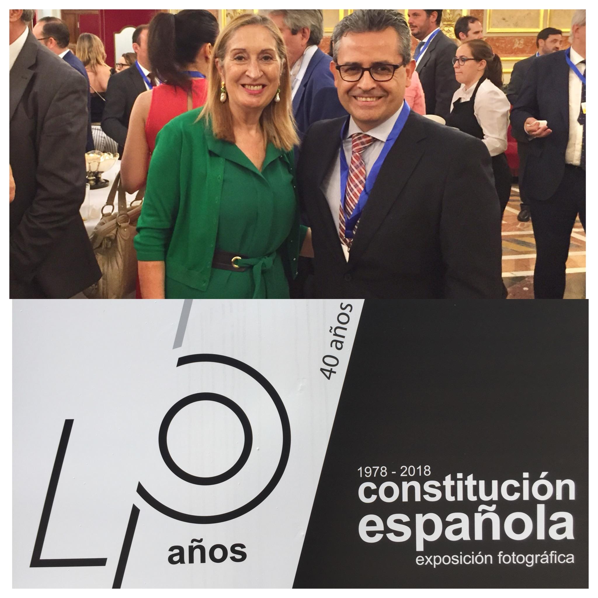 40 aniversario Constitución Presidenta Congreso Diputados y ACEB