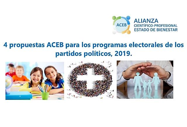 Propuesta ACEB 2019 programas electorales